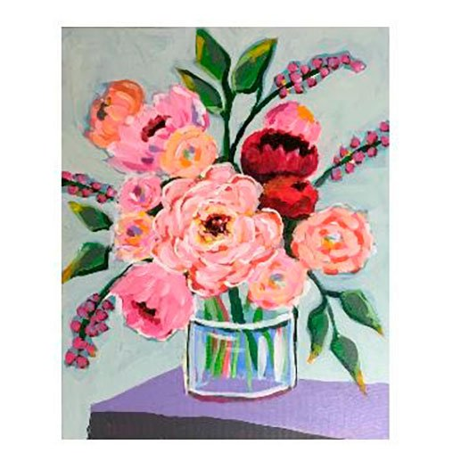 Acrylic Painting Class With Jeanne Hall -