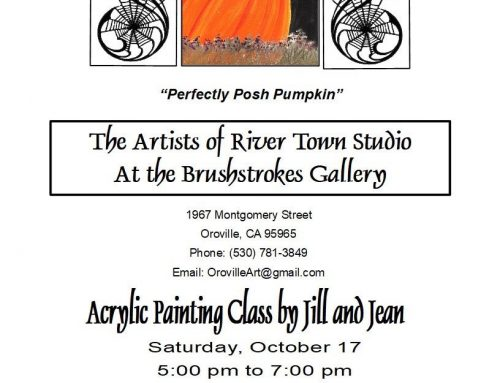 Acrylic Painting Class – Perfectly Posh Pumpkin